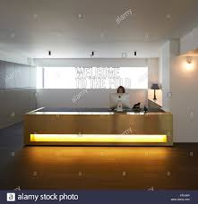 Illuminated Reception Desk Brass Colored And Illuminated Reception Desk Fold 7 Offices