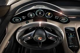 porsche cars interior porsche mission e concept interior design hiconsumption