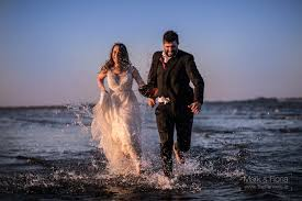 trash the dress in dublin bay ireland the fennells