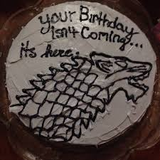boyfriend game thrones themed birthday cake food