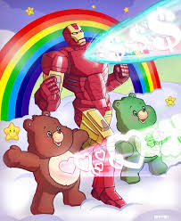 iron man care bears m7781 deviantart