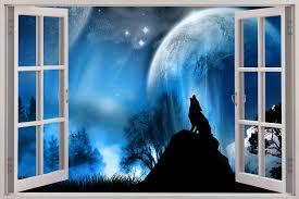 star wallpaper mince his words wolf wall sticker windows views