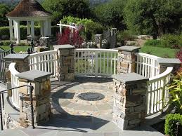 Retaining Wall Patio Wood Retaining Wall Patio Contemporary With Concrete Contemporary