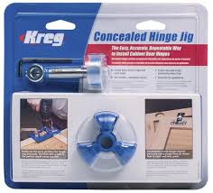 kitchen cabinet door hinge template kreg concealed hinge jig at menards