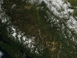 Chicago Wildfire Highlights by Nasa Satellite Highlights Burn Scars In British Columbia