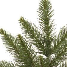 7 5 camdon fir artificial tree unlit slim profile yonder