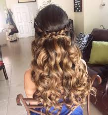 hairstyles for 20 absolutely stunning quinceanera hairstyles with crown