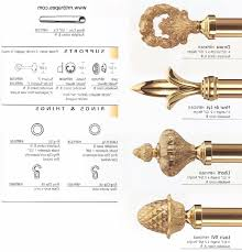 accessories finials for curtain rods intended for leading shop