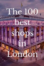 the 100 best shops in department store in and