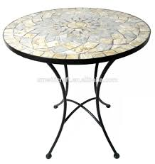 Round Stone Patio Table by Mosaic Round Table Top Mosaic Round Table Top Suppliers And