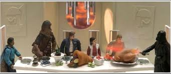happy thanksgiving to our american friends the bearded trio