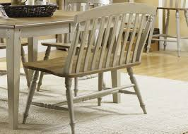 rectangle casual dining table with driftwood u0026 taupe finish