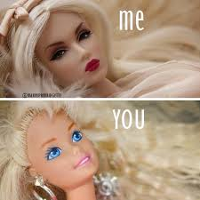 Me You Meme - makeup funny meme me vs you basic makeup beauty quotes