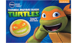 pillsbury shape mutant turtles sugar cookies