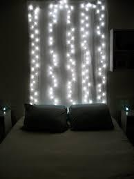 bedroom facing north with gracia minimal christmas string lights