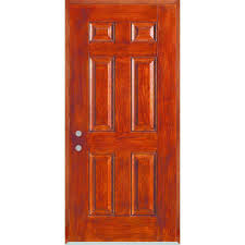 6 Panel Interior Doors Home Depot by Stanley Doors 32 In X 80 In Infinity 6 Panel Stained Fiberglass
