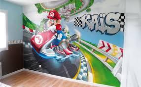 chambre mario décoration chambre d enfant mario kart by popek décoration homify