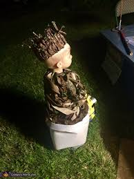 groot costume baby groot costume diy photo 2 5