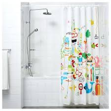Bathroom Curtains Ikea A Rounded Shower Curtain To Hang Soft Curtains Around The Crib