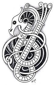 ancient celtic dragon google search tattoo polynesian