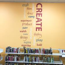 wall library library feature wall word art wall decals