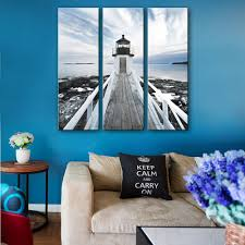 lighthouse home decor hd landscape canvas art print painting poster print wall pictures