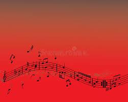 imagenes de notas rojas vector las notas rojas ilustración del vector ilustración de curvas