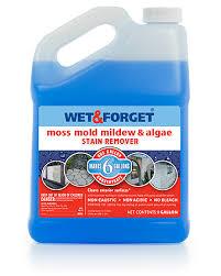 how to clean bluestone bleach free no scrub mold u0026 mildew moss u0026 algae cleaner wet