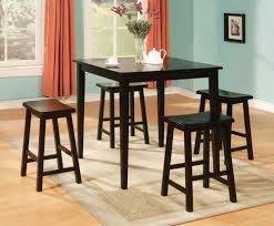 dining room space saving 2017 dining kitchen decor black finish