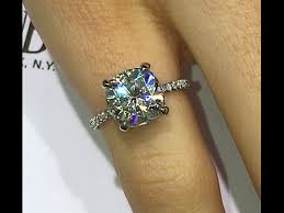 3 carat diamond engagement ring 3 carat cushion diamond engagement ring