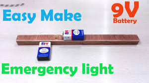 easy power emergency light awesome idea make emergency light youtube