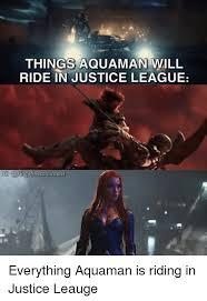 Aquaman Meme - things aquaman will ride in justice league ngofmetahumans funny
