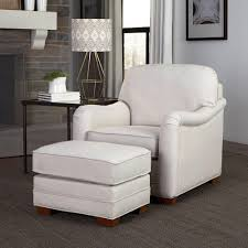 Ottoman Styles Home Styles White Arm Chair With Ottoman 5205 100