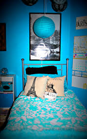paris themed girls bedding blue and black rooms teenage boy imanada bedroom master decor