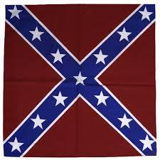 Black American Flag Bandana Bandanas Confederate Flag Bandanna