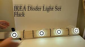 Ikea Led Strip Light by How To Ikea Dioder Hack Youtube