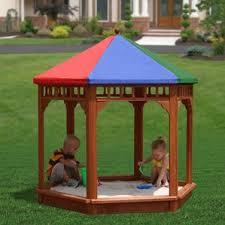 Badger Basket Covered Convertible Cedar Sandbox With Two Bench Seats 2 Year Old Sandboxes U0026 Water Tables You U0027ll Love Wayfair
