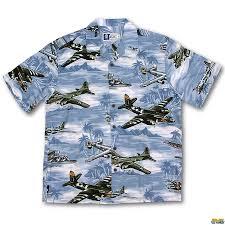 pacific bombers aloha shirt