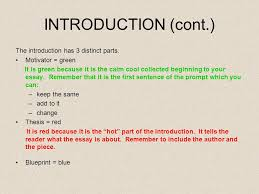 calm cool collected introductions conclusions introduction cont the introduction
