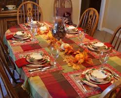 delightful golden thanksgiving table decorations on dining space