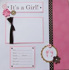 baby girl photo album best 25 baby girl scrapbook ideas on scrapbook ideas