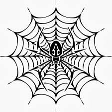 symmetry coloring pages free printable spider web coloring pages for kids