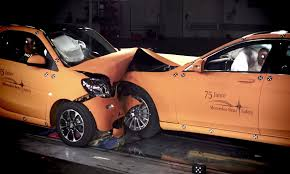 smart car crash 2016 smart fortwo faces mercedes s class in crash test video
