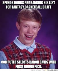Fantasy Basketball Memes - 2014 15 fantasy basketball box score browsing preseason week 3