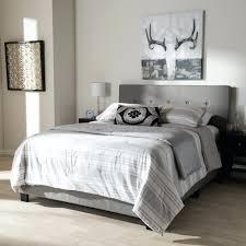 Modern King Size Bed Frame European Slat Bed Frame Baxton Studio Adelaide Retro Modern Light
