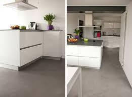 sol cuisine béton ciré le béton ciré dans la maison moderne santos kitchens and house