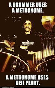 Neil Peart Meme - pin by toni rami flori on bateristas pinterest drums and rush band