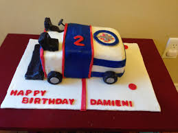 winnipeg jets zamboni cake my cake creations pinterest cake