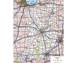 Map Of East Chicago by Maps Of Indiana State Collection Of Detailed Maps Of Indiana