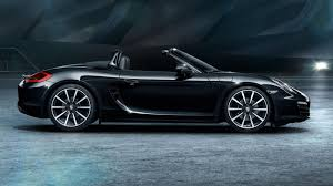 black porsche convertible 2016 porsche boxster black edition review top speed